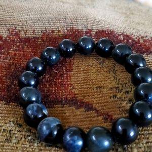 Beautiful Obsidian bracelet